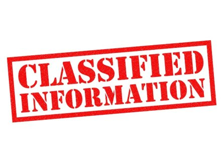 Classified Information Image