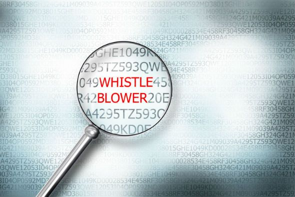 Whistleblower Image from Just Security